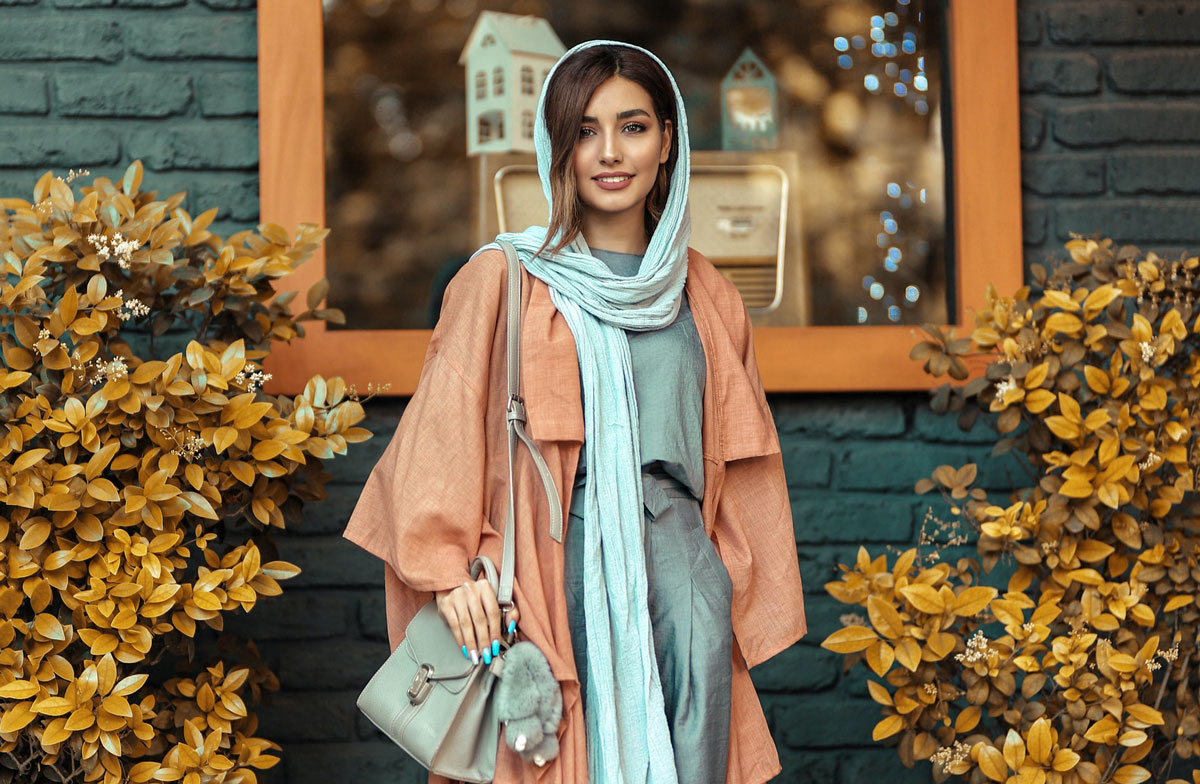 beautiful muslim woman